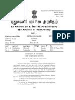 Puducherry Bye-Law Amendment2013