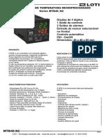 Controlador de Temperatura Mtb48