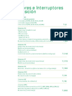 Sensores e Interruptores - Schneider