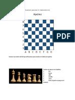Codificacioon de ajedrez