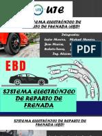 SISTEMA ELECTRÓNICO DE REPARTO DE FRENADA