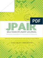 Multidiciplinary Journal