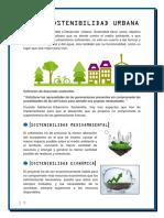 Sostenibilidad Urbana - Trabajo