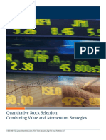 First Trust - Quantitative Stock Selection
