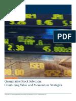First Trust - Quantitative Stock Selection