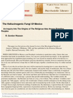 [Psilocybin]Hallucinogenic Fungi of Mexico - Wasson