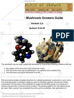 Erowid psilocybin mushroom vaults: the magic mushroom growers guide.