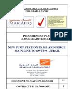 Prelimanary Procurement Plan