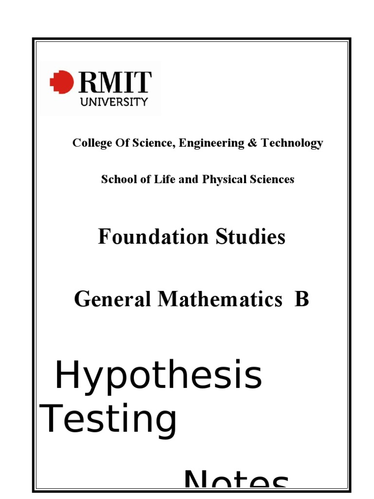 Hypothesis testing notes statistical significance type i and hypothesis testing notes statistical significance type i and type ii errors biocorpaavc