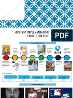 Nike Strategy Analysis