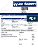 Electronic Ticket Receipt 28MAY for OWEN MILLS