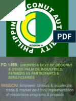 PCA Regional Office V Road Map presentation
