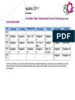 Nace Time Table