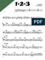 1-2-3 (6-10-18) - bass guitar