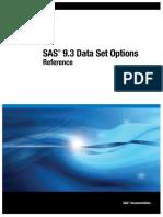 SAS Dataset options.
