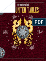 The Mother of All Encounter Tables D20