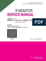 Service manual LG L1720 B