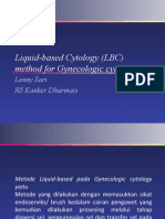Liquid-based Cytology (LBC) Method for Gynecologic Cytology