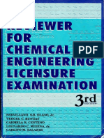 Reviewer Chemical Engineering Licensure Exam (PH)