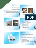 arts appreciation(cinema)