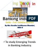 Emerging Trends in Banking Industry PPT
