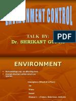 Environment Control Awareness Talk