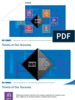 Tenets of Our Success