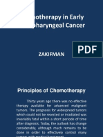 Chemotherapy in Early Nasopharyngeal Cancer