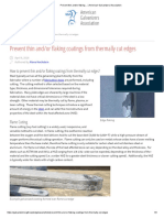 Prevent Thin And_or Flaking… _ American Galvanizers Association