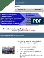 Gerenciamiento del valor agregado - PMI Certification