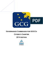 GCG Citizens Charter 2014