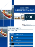 Download Presentation About Offshore International