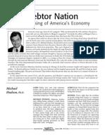 Michael Hudson -- Debtor Nation Interview in Acres USA Magazine