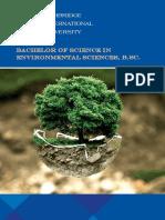 Environmental Sciences BCH