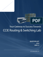 CCIE RnS v5 - Configuration - Question - Lab 1.1 - Final Release -01-Jul-2018