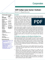 2009 Indian Auto Sector Outlook