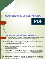 Tipos de Investigacion Cientifica1