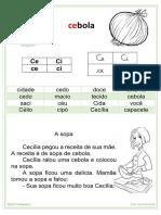 Ficha de Leitura- Silabas Complexas