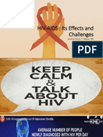 Challenges of HIV 2019