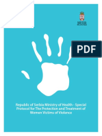 UNDP SRB Republic of Serbia Ministry of Health Special Protocol for the Protection and Treatment of Women Victims of Violence