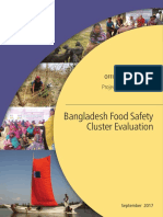 Bangladesh Food Safety Cluster Evaluation