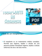 Trasplantedeorganos Soluciones