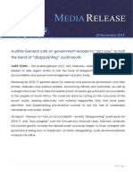 Auditor General Report