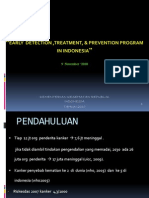 Early Detection, Treatment, & Prevention Program In Indonesia