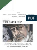 Thomas Moller-Nielsen - What is Žižek For?