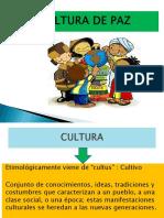 cultura de paz