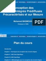 Conception des Circuits Intégrés Prédiffusés Précaractérisés et sur Mesure v2010
