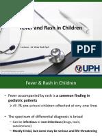 Fever and Rash Mar 2016 Copy