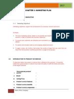 BP TEMPLATE Chapter 3 Marketing Plan .doc