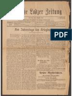 Deutsche Lodzer Zeitung 1915-1918